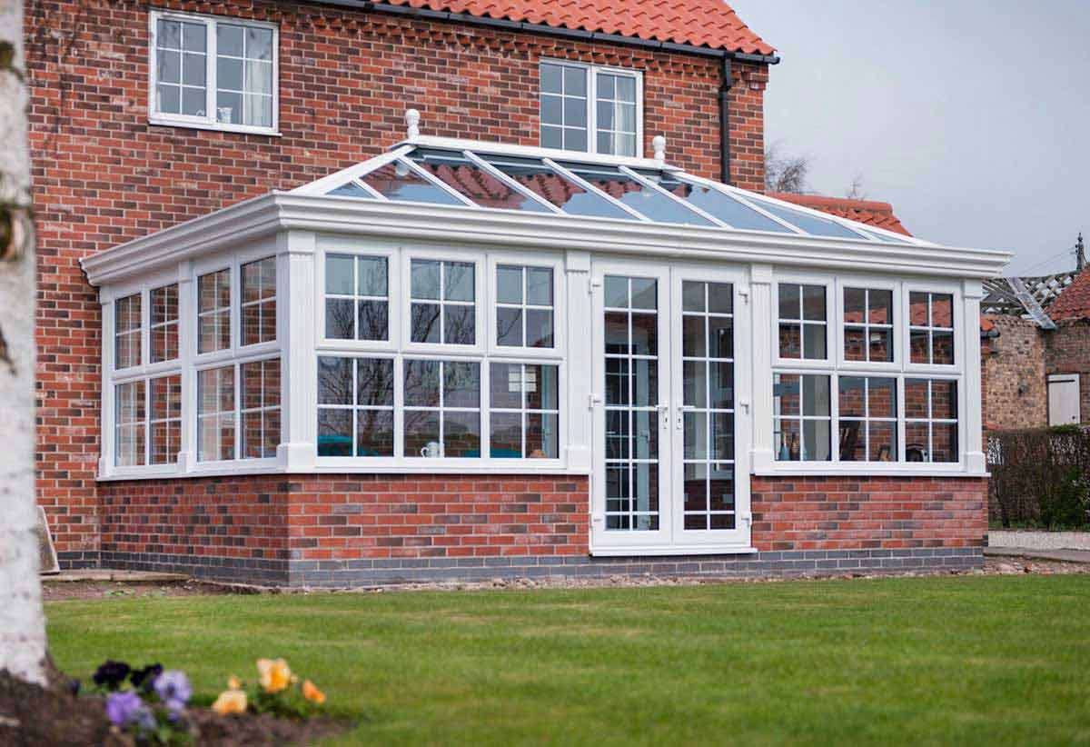 Large Edwardian style Conservatories Kent