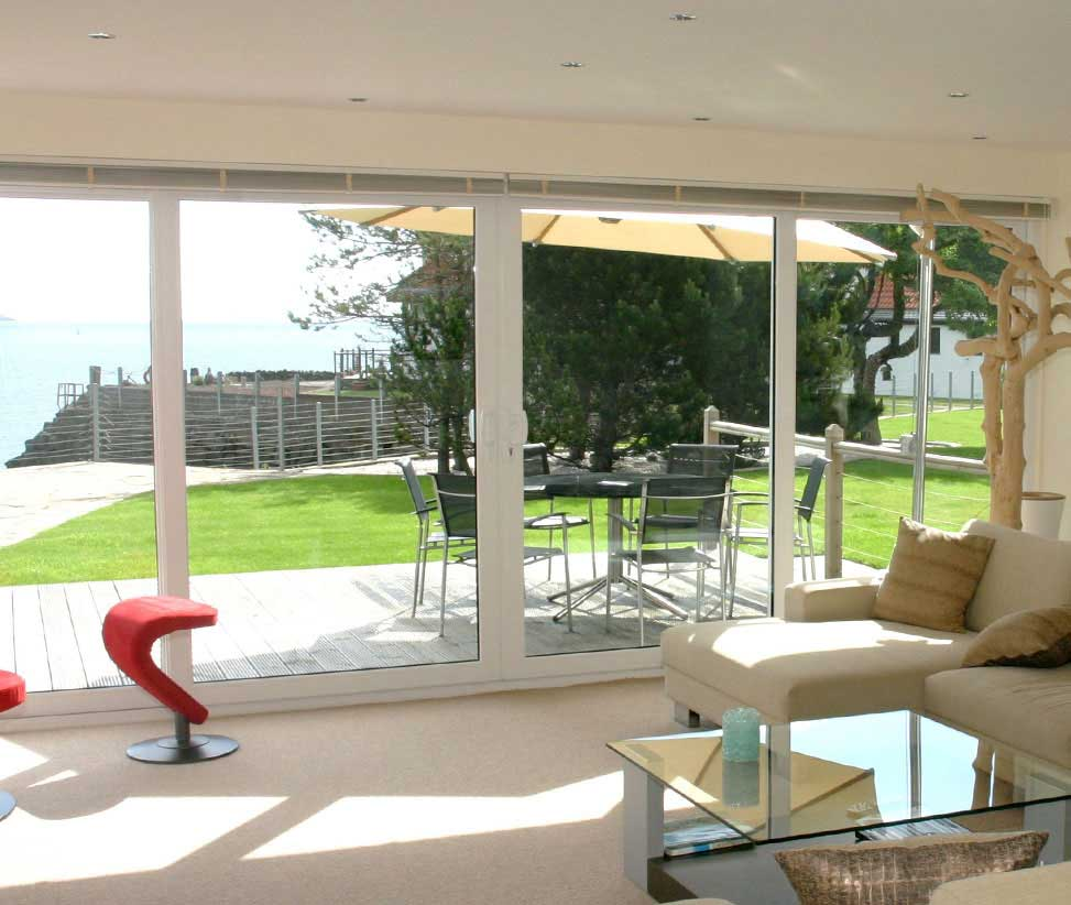 Aluminium and UPVC French Doors