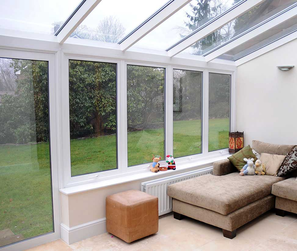Lean To Conservatory Installation