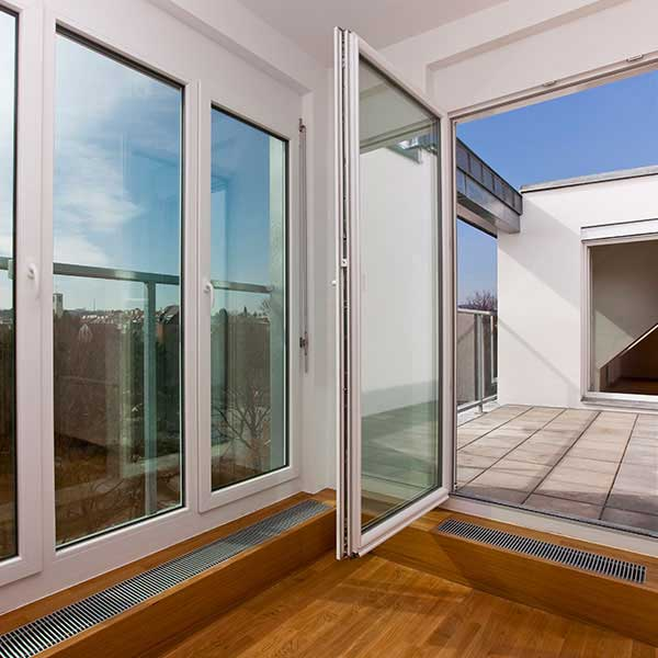 CREATIVELY DESIGNED PATIO DOORS