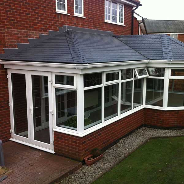 Outdoor conservatory roofs