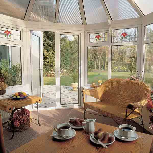 Victorian Conservatories with Glass Designs